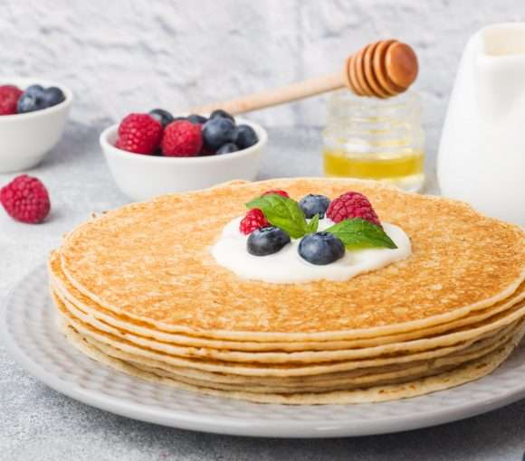 5 minuten pancake rezept